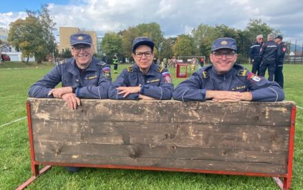 Training of judges for the international Youth Fire Brigade competitions